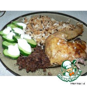 Курица по-азербайджански