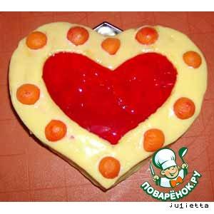 """Торт """"Желейное сердечко""""-2"""