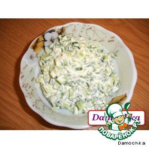 Салат «Весенний зеленый»