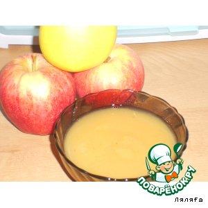 Яблочный мусс. Яблочное повидло