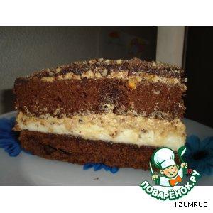 """Продолжение торта """"Сникерс"""""""