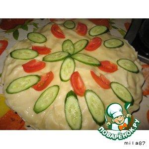 Вареный торт