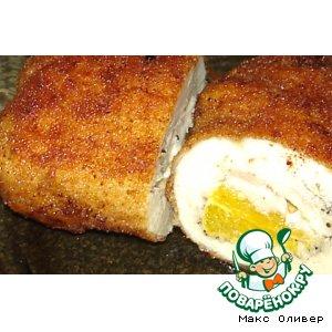 Конверты из курицы с апельсином