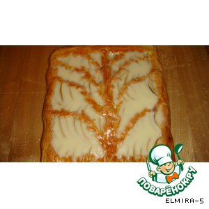 Яблочный пирог с заливкой