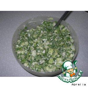 """Салат """"Зеленый"""""""