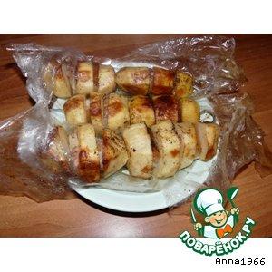 Картошка, запеченная в рукаве
