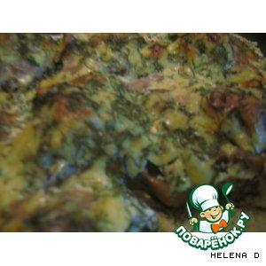 Биточки с картофельным пюре под грибным соусом