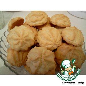 Печенье с ванильным пудингом