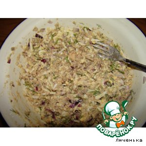Рыбный салат - паштет