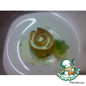 Роза в сливочном соусе «Fish sauce»