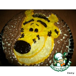 "Торт ""Мечта Тигры"""