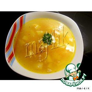 Самый простой и легкий куриный суп