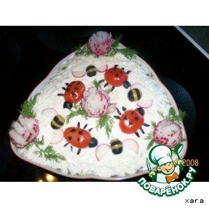 Фигурки для украшения салатов