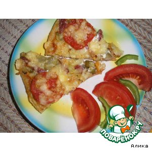 Фирменная пицца «Сочный кусочек»
