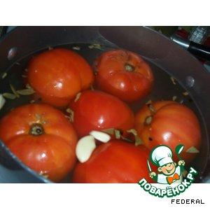 Быстро маринованные помидоры