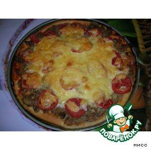 Пицца (замес теста в хлебопечи)