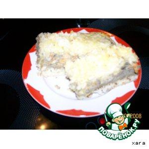 Рисовая запеканка с печенью