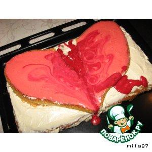 """Торт """" Разбитое сердце"""""""