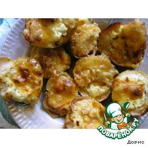 Сырные яблоки
