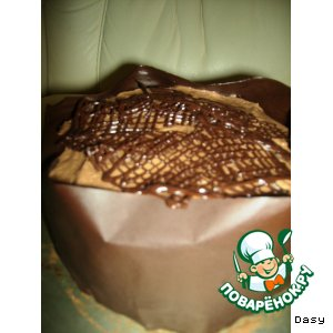 """Торт """"Шоколадная улитка"""""""