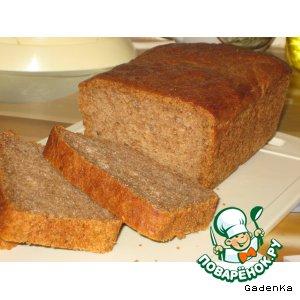 Хлеб на пиве с отрубями