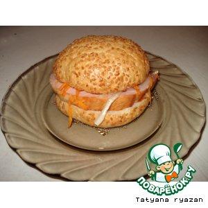 Чисбургер для быстрого завтрака
