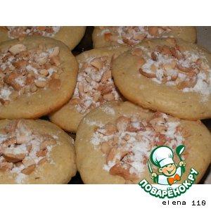 Творожное печенье с кешью
