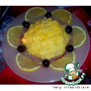 Лимонное ризотто