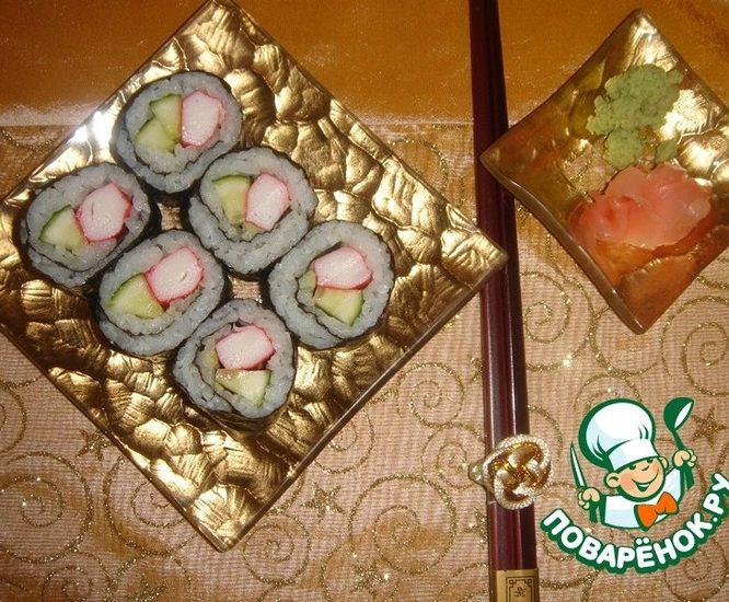 Маки-суши в домашних условиях