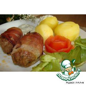 """""""Ленивые"""" мясные колбаски"""