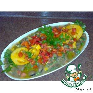 Горячий салат из бобов по-дамасски «Фуль мдаммас»