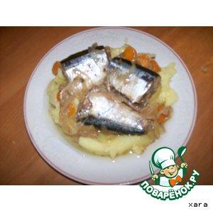 Морская рыба в масляно-уксусном соусе