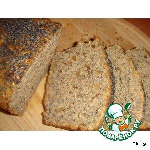 Хлеб с тремя видами семян