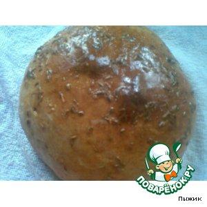 Пшенично-ржаной хлеб с тмином и гвоздикой