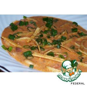 Фасолевый суп-пюре по-испански