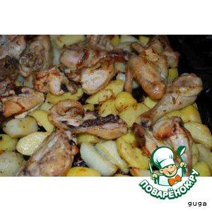 Курица по-мароккански
