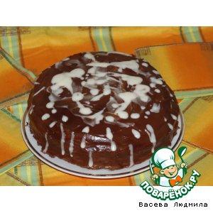 """Торт """"Черно - белая жизнь"""""""