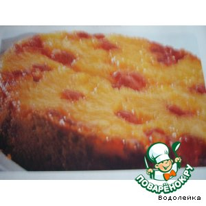 Ананасовый пирог