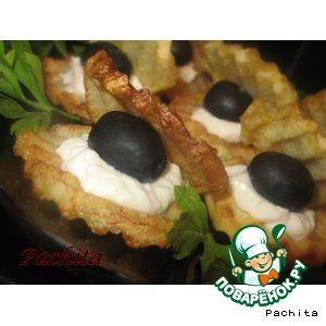 """Закуска из картофеля """"Морская раковина"""""""