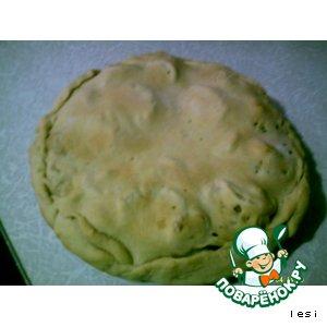 Рыбно-картофельный пирог