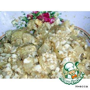 Низкокалорийный картофельный салат
