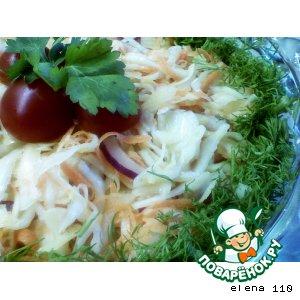 Наш любимый капустный салат