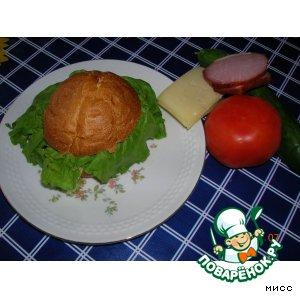 """Чизбургер фирменный """"От сына"""""""