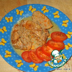 Биточки мясо-овощные