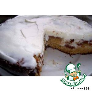 Пирог медово-лимонный