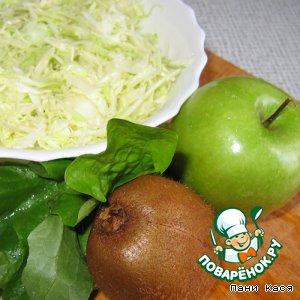 """Салат """"Какое все зеленое"""""""