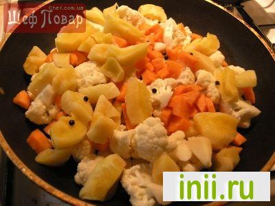 Овощной суп-пюре с тыквой и сухариками
